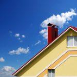 5S dream home with blue sky