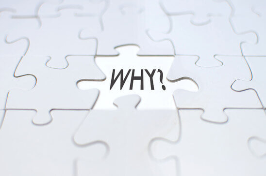 Why should we ask why?