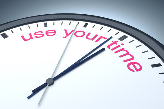 use your time
